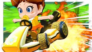 Mario Kart 8 but some funny stuff happens