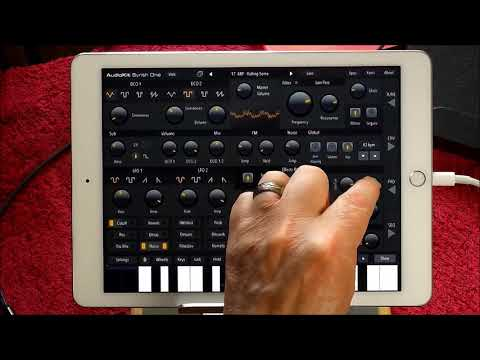 100% FREE AudioKit Synth One - The ELECTRONISOUNDS Patch Bank - iPad