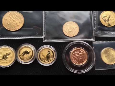 FRACTIONAL GOLD COINS TIME TO SWITCH! PROS AND CONS 1/10 oz COIN STACKING - GOLD COLLECTION