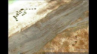 UFO Google拍到無人島墜毀的飛碟?