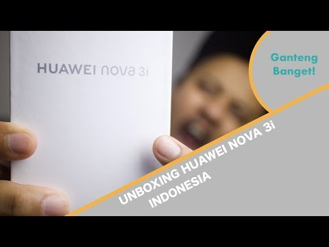 Unboxing Huawei Nova 3i - Indonesia