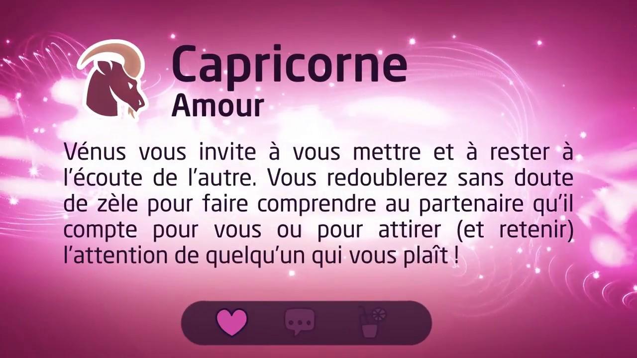 horoscope d aujourd hui capricorn