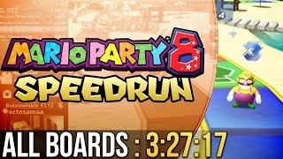 [WR] Mario Party 8 All Boards Speedrun in 3:27:17 (Easy)