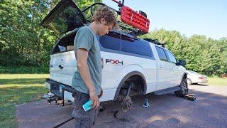 Installing Air Suspension On My Truck - F-150 Maintenance