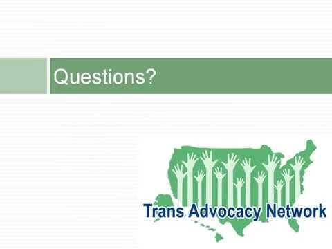 Trans Advocacy Network - Employer Non Discrimination Policie