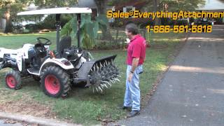 Everything Attachments Alternating Depth Aerator In Studio And In The Field