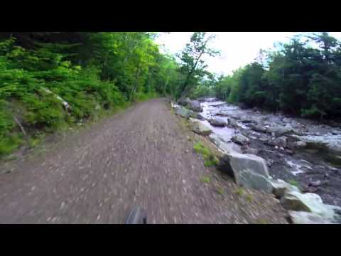 Mountain biking in Carrabassett Valley