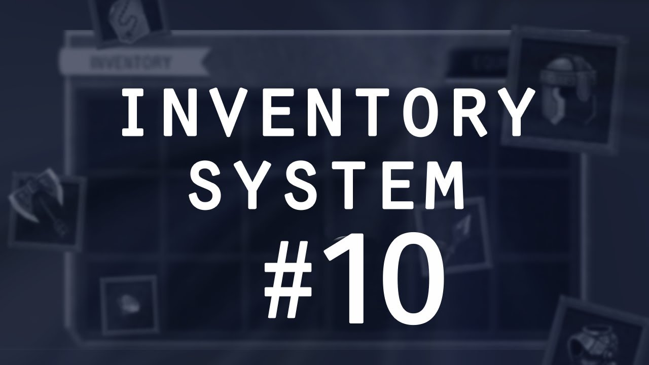 Keyboard Input + Hide/Show Mouse - Items & Inventory in Unity (pt 10)