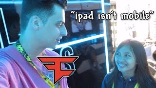 Meeting FaZe Cizzorz and Nick Eh 30 - THEY LOVE MOBILE PLAYERS!! (VidCon 2019)