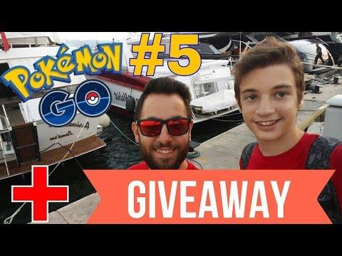 Pokemon στο Φλοίσβο part 2 + GiveAway   Pokemon GO #5