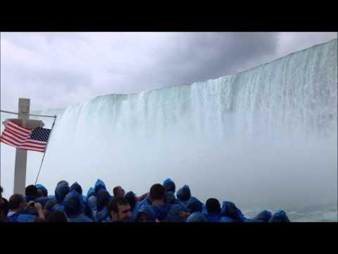 Maid Of The Mist Boat 🛥️ Ride, Niagara Falls 💦 New York