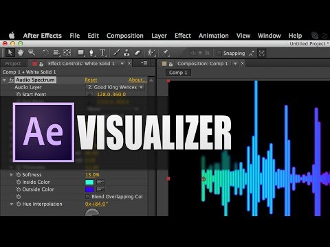 How to Create Music Visualizers - After Effects Tutorial