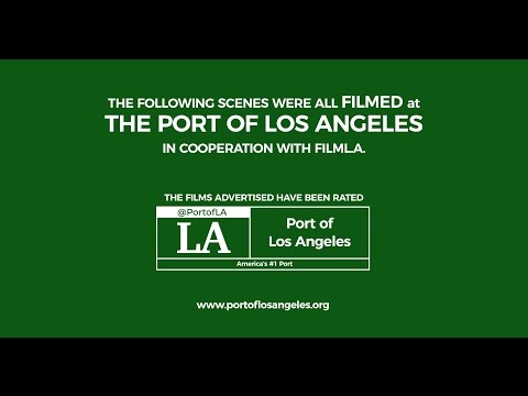 Hollywood at the Harbor: Scenes Filmed at the Port of Los Angeles