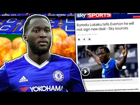 BREAKING: Lukaku REJECTS Everton Contract To Join...?! | Transfer Talk