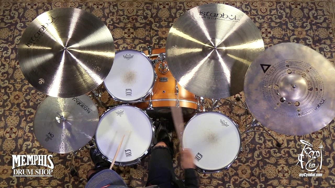 "VIDEO XIDC19 Istanbul Agop Xist Ion Dark Crash Cymbal 19/"""