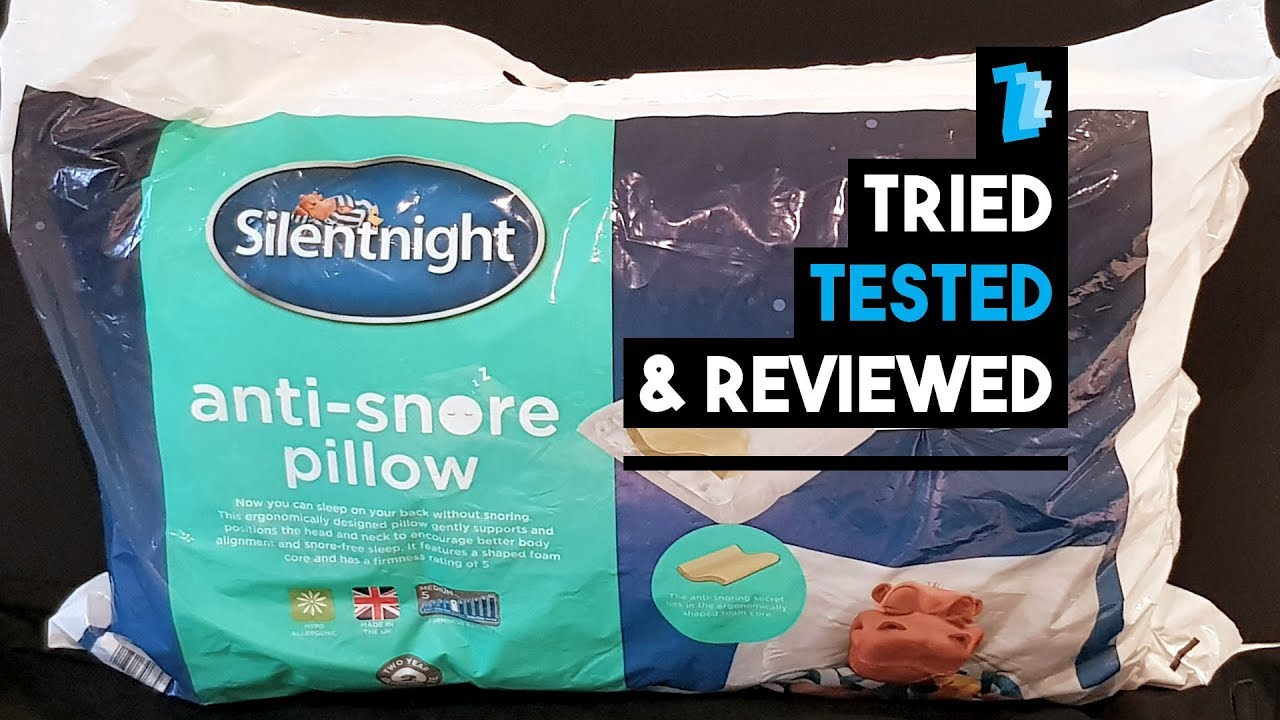 Silentnight Anti Snore Pillow: Amazon