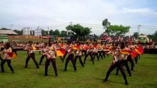 VIDEO Anggota Pramuka Bergoyang Di Depan Bupati