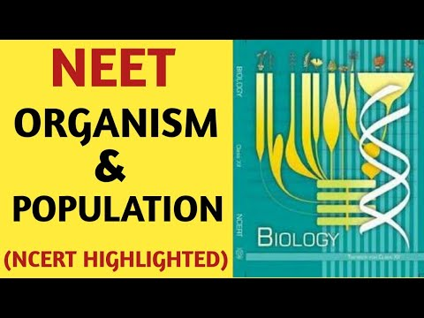 Organism And Population Class 12 NCERT Chapter 13 Ecology