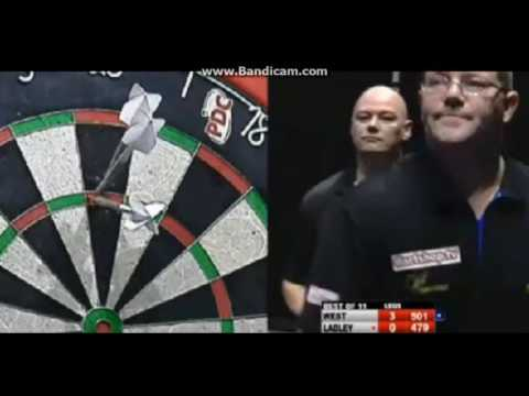 PDC Players Championship 2016 Dave Ladley vs  Steve West