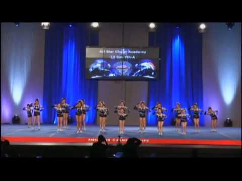 All Star Cheer Academy Youth Level 2 Starburst