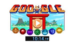 Google Doodle Champion Island Games Speedrun (10:14)