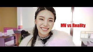 Yeji (ITZY) - MV vs Reality