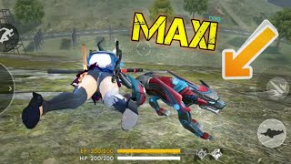 MAX LEVEL NIGHT PANTHER! (New Pet) - Garena Free Fire