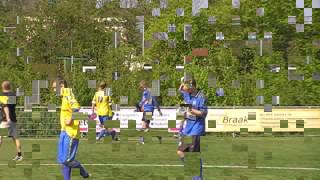 SC Franeker B2 - Leeuwarder Zwaluwen B1 gespeeld 23 april 2011