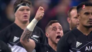 France - Nouvelle-Zélande : Le Haka des Néo-Zélandais