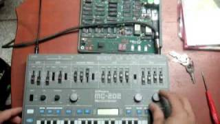 Roland MC-202 does Aphex Twin