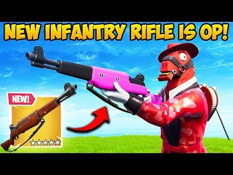 *NEW* INFANTRY RIFLE IS INSANE! - Fortnite Funny Fails and WTF Moments! #470 thumbnail
