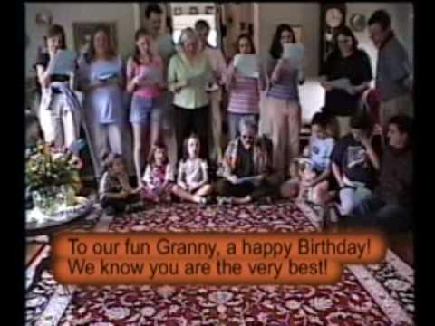 Mom's 75th Birthday Song