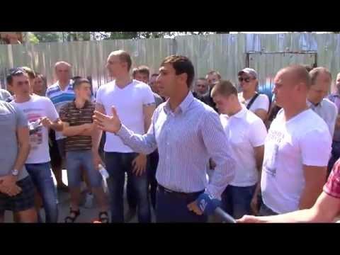 Олег Марков у Межрейсовой базы моряков