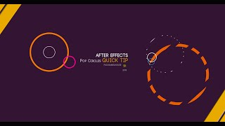 After Effects Quick Tip  - POP CIRCLES TUTORIAL