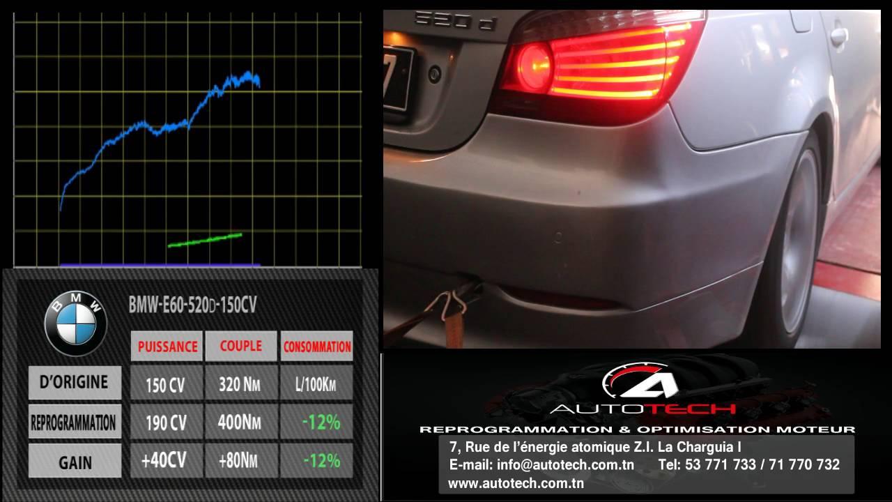 bmw 520d e60 150cv bmw 520d e60 150cv autotech tunis