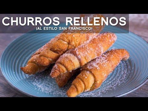 CHURROS RELLENOS - COMIDA PERUANA | RECETA DE ACOMER.PE