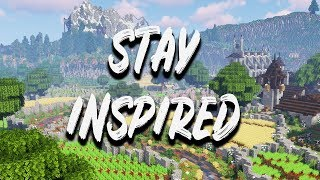 How to stay INSPIRED in your MINECRAFT 1.13 Single Player Survival world