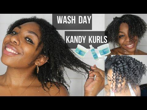 WASH DAY W/ KANDY KURLS! (MINI REVIEW)