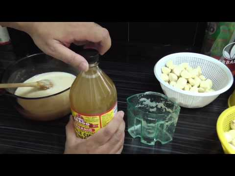 Garlic, Ginger, Lemon, Apple Cider Vinegar potion - YouTube