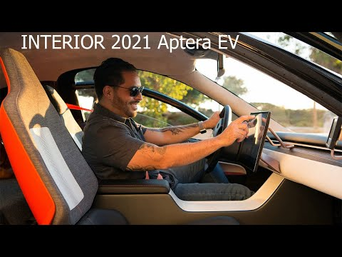 INTERIOR New 2021 Aptera EV - Solar Electric Vehicle / Prices & Specs / Features & Details / Driving