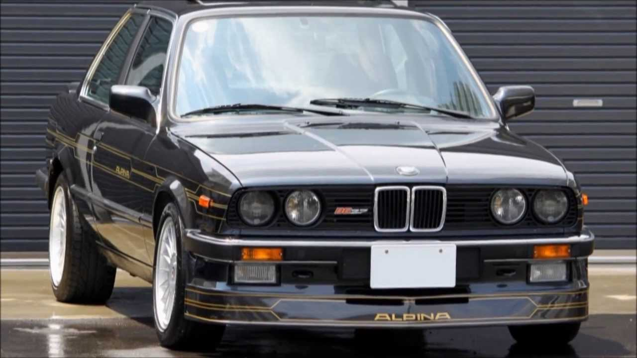 Bmw Alpina B6 >> '87 アルピナB6-2.7 (BMW E30) Highway Star GARAGE BMW ALPINA B6 2.7 E30 - YouTube