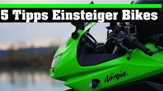 TOP 5 TIPPS FÜR DAS ERSTE MOTORRAD