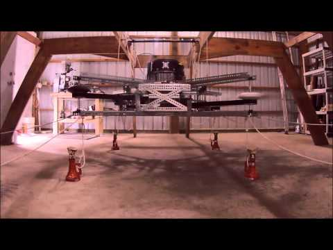 Goliath Quadcopter. This repository contains the design data for the Goliath Quadcopter designed by McCloud Aero Corp. The primary documentation source can be found at the Hackaday Project Page. Overview. Goliath is a prototype vehicle for developing large scale quadcopters.