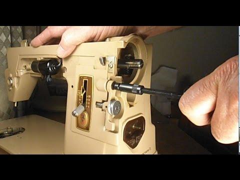 SINGER MODEL 40 RESTORE SERIES Pt 40 REMOVE BOBBIN WINDER SYSTEM Custom Remove Handwheel Singer Sewing Machine