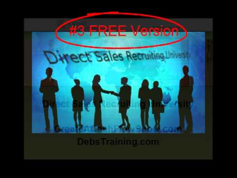 Direct Sales Recruiting FREE Training For Consultants