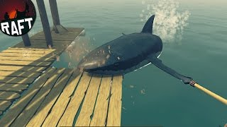Raft - SHARK ATTACK