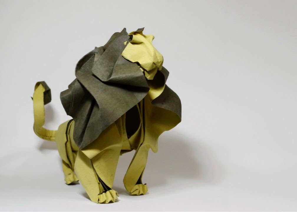 30 best origami lion most complex origami ever youtube