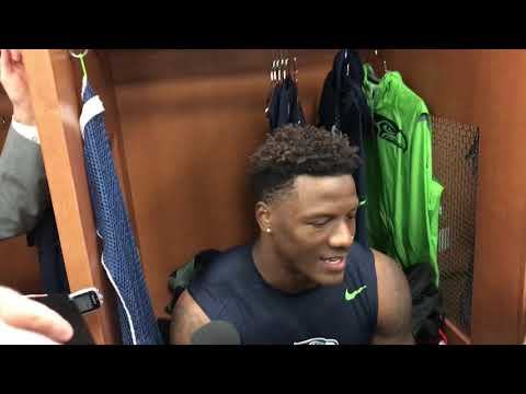 Rookie Chris Carson, the apparent new lead RB Seahawks