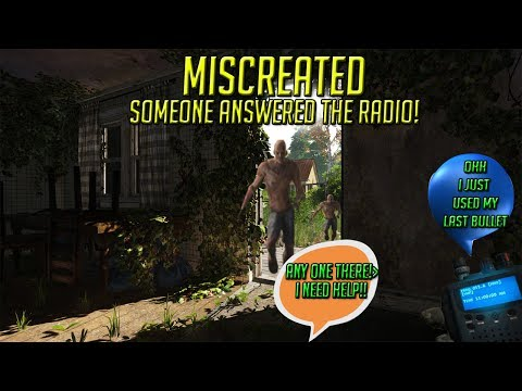 Miscreated Gameplay 2017 - Following a voice on a Radio