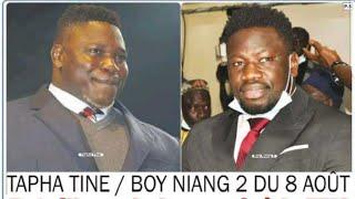 Tapha Tine vs Boy Niang 2, bataille verbale ce dimanche à la TFM...